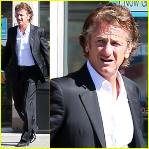Sean Penn Calls Out Media for Not Covering Positive Haiti News