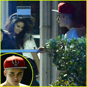 Selena Gomez Joins Justin Bieber at the Studio in Miami - See the Pics!