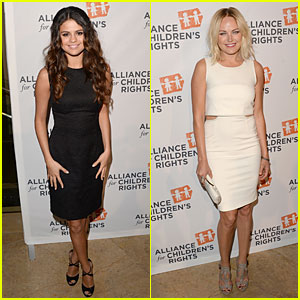 Selena Gomez & Malin Akerman Are Beautiful Allies for Children's Rights!