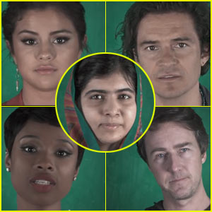 Orlando Bloom, Selena Gomez, & More Support Malala Yousafzai in Her Fight for Education Equality