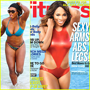 Serena Williams Talks Embracing Curves & Large Boobs in 'Fitness' Magazine!
