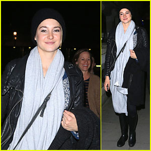 Shailene Woodley Wraps Up Whirlwind 'Divergent' Promo with Mom Lori!