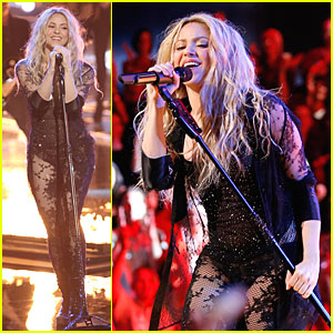 Shakira Is Flamin' Hot Singing 'Empire' on 'The Voice' - Watch Now!