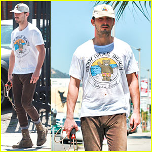 Shia LaBeouf Exits 'Rock the Kasbah'!