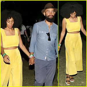 Solange Knowles Was Blown Away By Outkast's Coachella Performance!