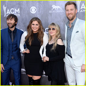 Stevie Nicks & Lady Antebellum Pose for Pics Before Big Performance at ACM Awards 2014!