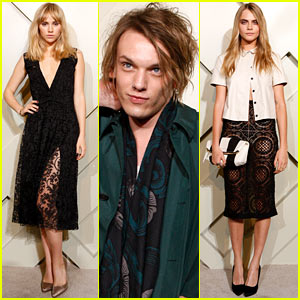 Suki Waterhouse Gets Leggy at the Burberry Shanghai Launch with Cara Delevingne