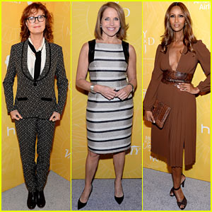 Susan Sarandon & Iman: Proud Honorees at Variety's Power of Women 2014!