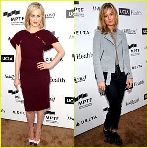 Taylor Schilling & Brie Larson Help Tell 'Reel Stories'
