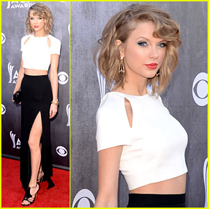 Taylor Swift Serves Up Some Skin at ACM Awards 2014!