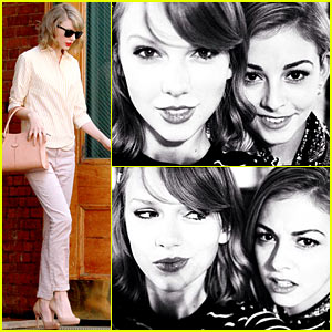 Taylor Swift Spends a Fun Night In Baking Cookies with Olympian Gracie Gold