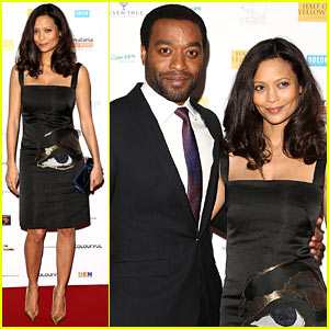 Thandie Newton Looks Amazing Just 5 Weeks After Giving Birth!