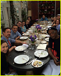 'Avengers' Assemble & Have a Cast Meal - See the Pic!
