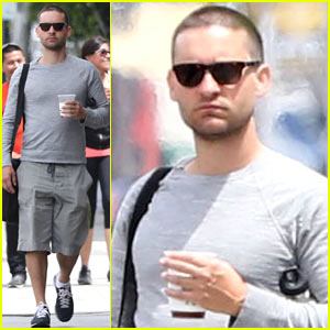 Tobey Maguire Gets a Buzz Cut Just Like Fellow Spider-Man Andrew Garfield!