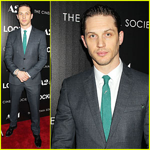 Tom Hardy Stands Out in Green Tie at 'Locke' Premiere!