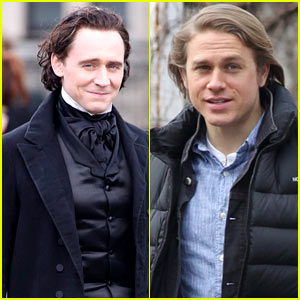 Tom Hiddleston & Charlie Hunnam Can Provide Your Daily Dose of Handsome!
