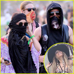 Vanessa Hudgens & Austin Butler Get Wrapped Up at Coachella!