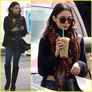 Vanessa Hudgens Gets Caffeine Wake Up Call in the Middle of the Day!