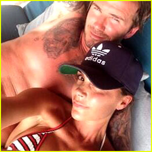 Victoria Beckham Celebrates 40th Birthday with Shirtless Hubby David Beckham!