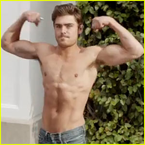 Zac Efron's Muscles & Washboard Abs Are on Full Display in 'Neighbors' NSFW Red Band Trailer - Watch Now!