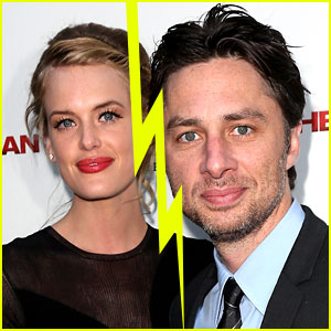 Zach Braff Girlfriend 2013
