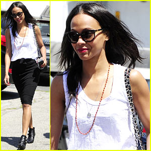 Zoe Saldana Promotes Paul Walker's 'Brick Mansions': He Was the 'Nicest Actor'
