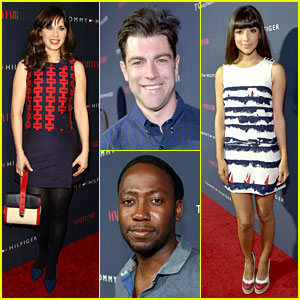 Zooey Deschanel Gets Support from 'New Girl' Cast at Her Clothing Line Launch!