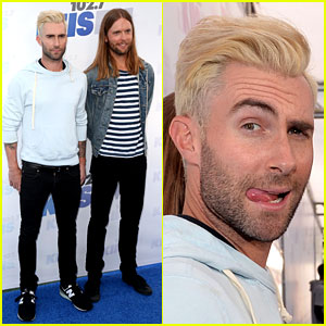 Adam Levine Makes a Funny Face, But Still is Sexiest Man Alive!