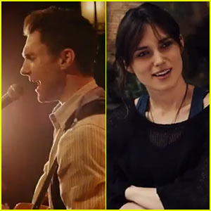 Adam Levine Sings Live in New 'Begin Again' Trailer - Watch Now!