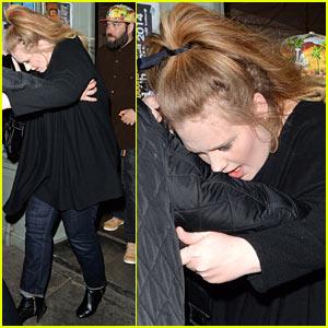 Adele & Partner Simon Konecki Make Rare Public Appearance on Her 26th Birthday!