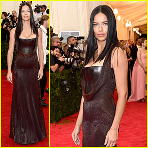 Adriana Lima Looks Amazing After Marko Jaric Split at Met Ball 2014