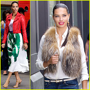 Adriana Lima Says Maybe It's Maybelline in SoHo!
