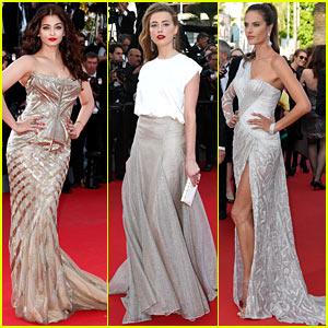 Aishwarya Rai & Amber Heard Make First Cannes 2014 Event Appearance!