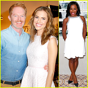 Allison Williams & Jesse Tyler Ferguson Are Picture Ready at 'Variety' Studio!