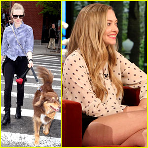 Amanda Seyfried Says She & Justin Long 'Do Everything Together'