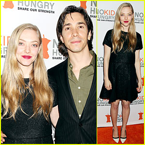 Amanda Seyfried & Justin Long Aim to End Childhood Hunger!