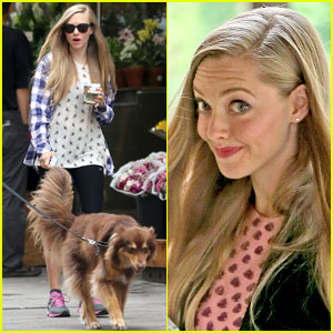Amanda Seyfried Treats Herself to a Spa Day!