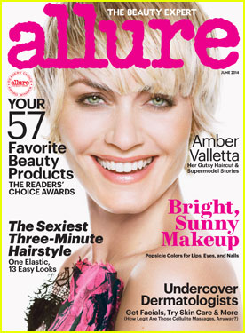 Amber Valletta Rocks Sexy Short Hair For 'Allure' June 2014 Cover!