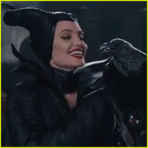 Angelina Jolie is Super Chilling in First Released 'Maleficent' Clip - Watch Now!