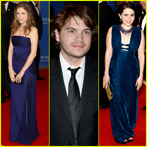 Anna Kendrick & Emile Hirsch Make Their Entrances at the White House Correspondent's Dinner!
