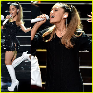 Ariana Grande Performs 'Problem' at iHeartRadio Music Awards 2014!