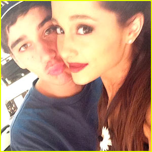 Ariana Grande Caught Kissing Ex Jai Brooks at iHeartRadio Music Awards 2014