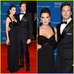 Armie Hammer & Elizabeth Chambers Are the Perfect Pair at White ...