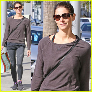 Ashley Greene Picks Up Paper Source Items for Mother's Day!