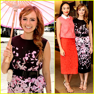 Ahna O'Reilly & Ashley Madekwe Are Super Chic for Monique Lhuillier Luncheon!