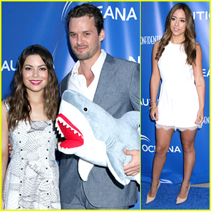 Austin Nichols Takes Girlfriend Chloe Bennet to Oceana Party