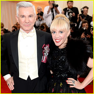 Director Baz Luhrmann & Wife Catherine Martin Hit Met Ball 2014