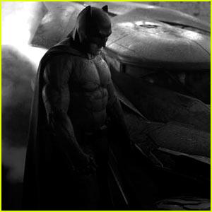 Ben Affleck's Batman Costume & Batmobile Car: First Look Images Revealed!