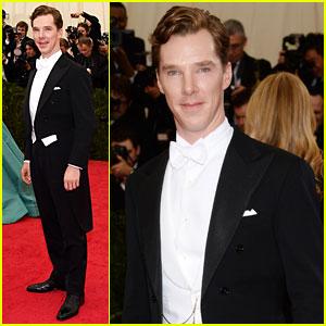 Benedict Cumberbatch is One Dapper Dude at Met Ball 2014