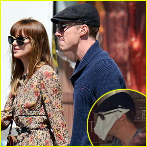 Benedict Cumberbatch Lunches with Dakota Johnson ...